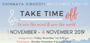 Take Time Off @ Chinmaya Vibhooti