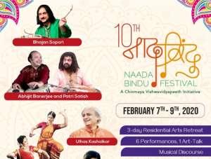 10th Naada Bindu Festival - A Chinmaya Vishwavidyapeeth Initiative @ Chinmaya Naada Bindu Gurukula