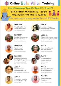 Online - Bala Vihar® Training  2020