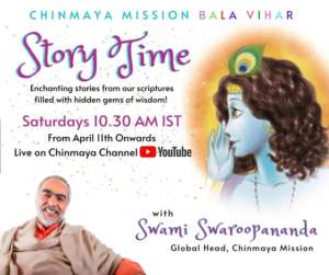 Online - Story Time with Swami Swaroopanandaji
