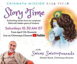 Online - Story Time with Swami Swaroopanandaji