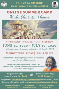 Online Summer Camp - Mahabharata Theme