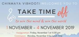 Take Time Off @ Chinmaya Vibhooti
