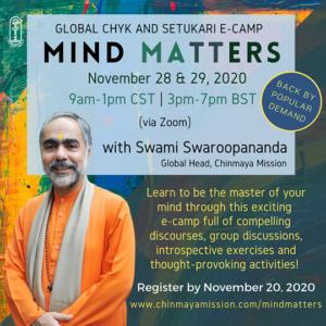 Mind Matters - Global CHYK & Setukari E-Camp @ Zoom
