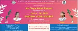 Finding your Source - 8th Divya Shakti Retreat for Women over 21 @ Chinmaya Somnath